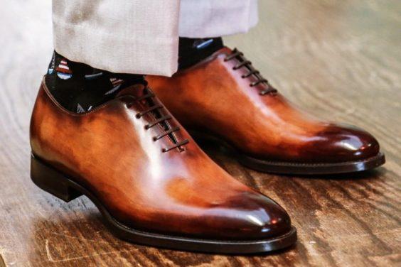 phối đồ với giày oxford