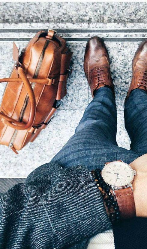 phối quần áo với giày oxford