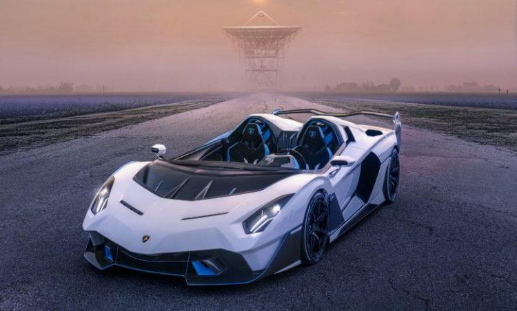 Lamborghini SC20 Roadster - không mui, không kính chắn gió, độc nhất vô nhị