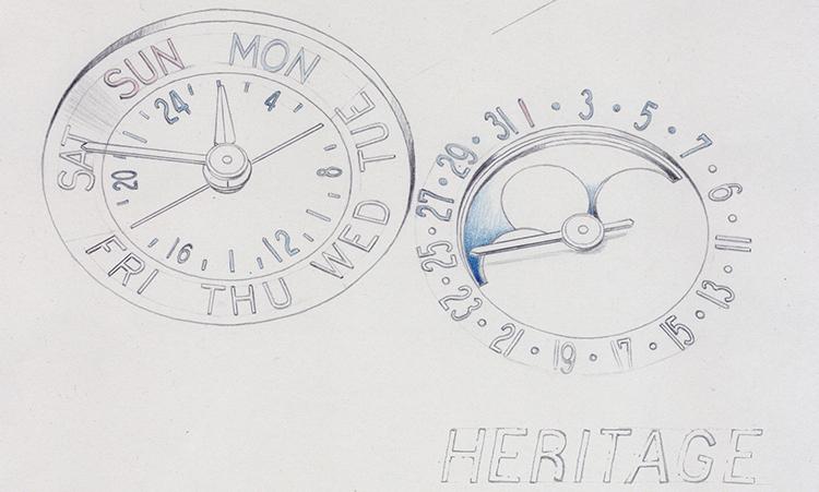 đồng hồ Montblanc Heritage