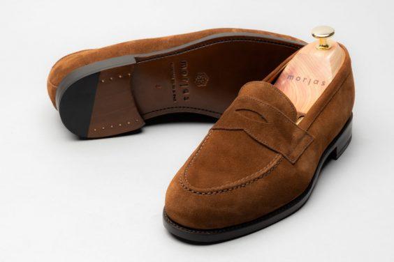 giày loafer da lộn