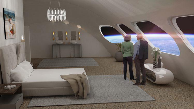 Khách sạn đầu tiên ngoài không gian