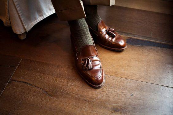 giày tassel loafer