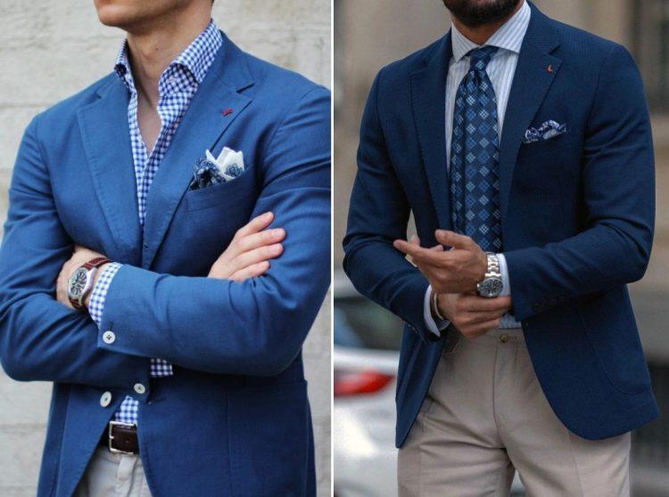 blazer xanh navy